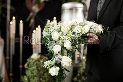 stock photo: grief  funeral and cemetery-Raw Stock Photo ID: 43109