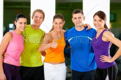 stock photo: group of people in gym-Raw Stock Photo ID: 41450