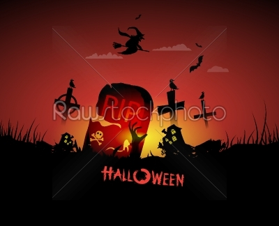 stock vector: halloween background-Raw Stock Photo ID: 27588