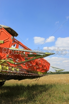 stock photo: harvester-Raw Stock Photo ID: 22329