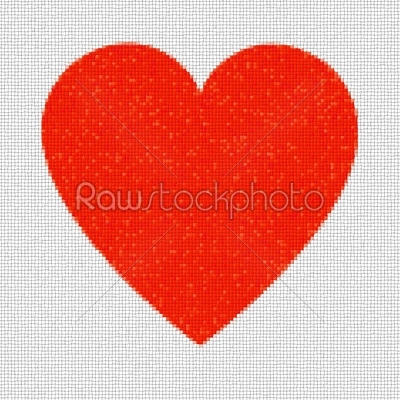 stock photo: heart mosaic squares-Raw Stock Photo ID: 31084