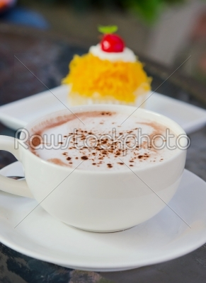 stock photo: hot coffee-Raw Stock Photo ID: 21310