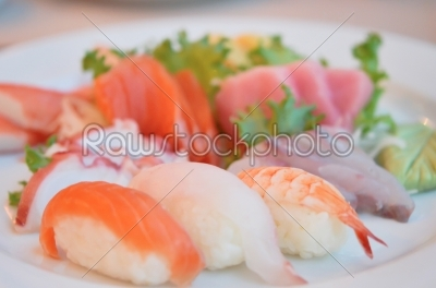 stock photo: japanese food-Raw Stock Photo ID: 21315