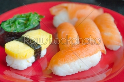 stock photo: japanese sushi-Raw Stock Photo ID: 22698
