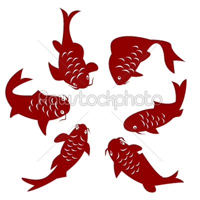 stock vector: koi fish-Raw Stock Photo ID: 24602