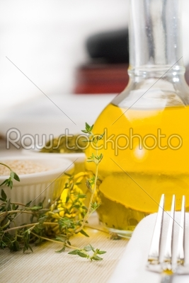 stock photo: lebanese manouche or manoushe-Raw Stock Photo ID: 37512