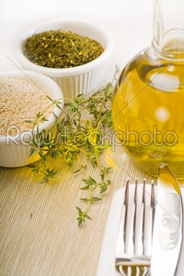 stock photo: lebanese manouche or manoushe-Raw Stock Photo ID: 37551