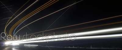 stock photo: light trails in tunnel-Raw Stock Photo ID: 27461
