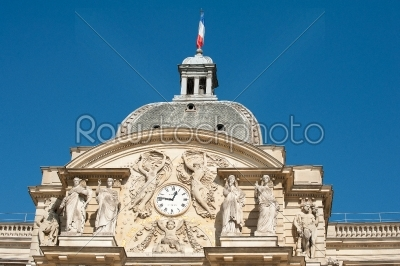 stock photo: luxembourg palace  top details-Raw Stock Photo ID: 11836