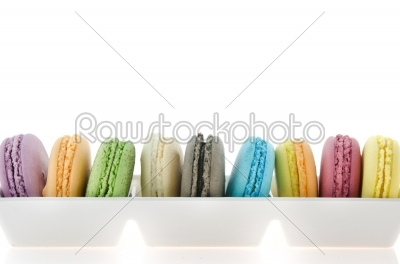 stock photo: macaroons in bowl-Raw Stock Photo ID: 22376