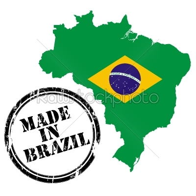 stock vector: made in brazil-Raw Stock Photo ID: 24632