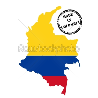 stock vector: made in colombia-Raw Stock Photo ID: 24633