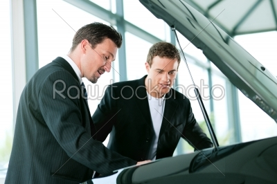 stock photo: man buying car from salesperson-Raw Stock Photo ID: 39509