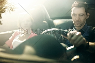 stock photo: man driving-Raw Stock Photo ID: 18813