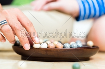 stock photo: marbles in a dish-Raw Stock Photo ID: 44937