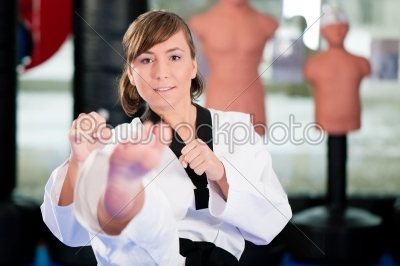 stock photo: martial arts sport training in gym-Raw Stock Photo ID: 41221