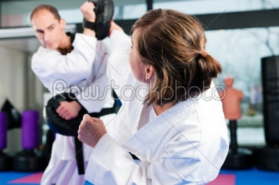 stock photo: martial arts sport training in gym-Raw Stock Photo ID: 41235