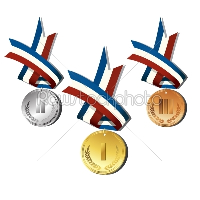 stock vector: medals -Raw Stock Photo ID: 24648