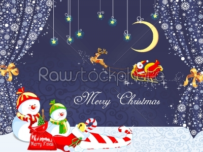 stock vector: merry christmas background-Raw Stock Photo ID: 27439
