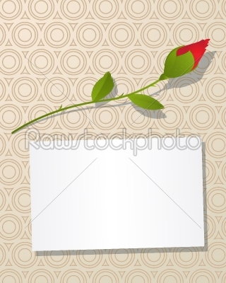 stock vector: message card-Raw Stock Photo ID: 24652