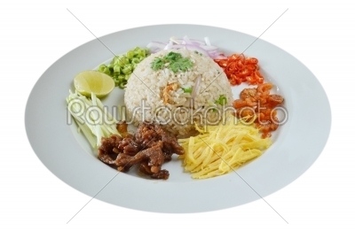 stock photo: mixed cooked rice-Raw Stock Photo ID: 19784