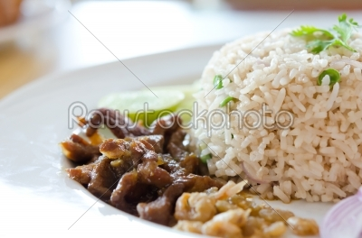 stock photo: mixed cooked rice-Raw Stock Photo ID: 21460