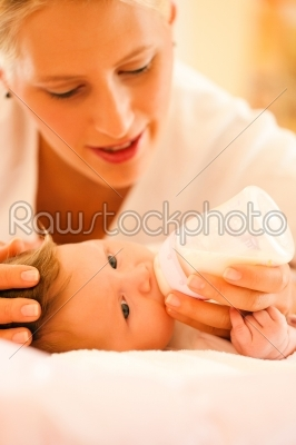 stock photo: mother is feeding the baby-Raw Stock Photo ID: 40170
