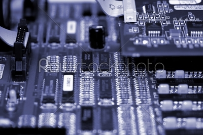 stock photo: motherboard-Raw Stock Photo ID: 33047