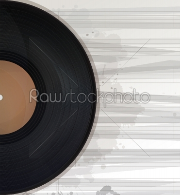 stock vector: music background text card-Raw Stock Photo ID: 26404