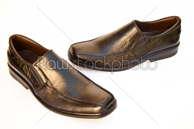stock photo: new black shoes-Raw Stock Photo ID: 32179