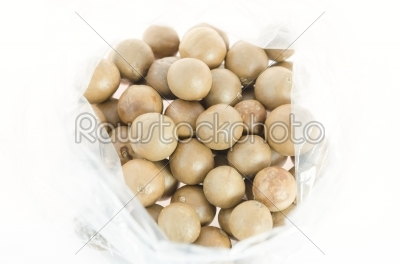 stock photo: nuts over white-Raw Stock Photo ID: 24188
