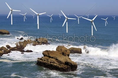 stock photo: offshore wind-Raw Stock Photo ID: 18337