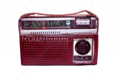 stock photo: old portable radio-Raw Stock Photo ID: 31496