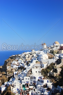 stock photo: overview on oia-Raw Stock Photo ID: 13886