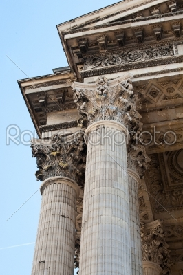 stock photo: pantheon in paris-Raw Stock Photo ID: 11840