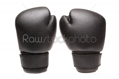 stock photo: par boxing gloves on a white background  -Raw Stock Photo ID: 10262