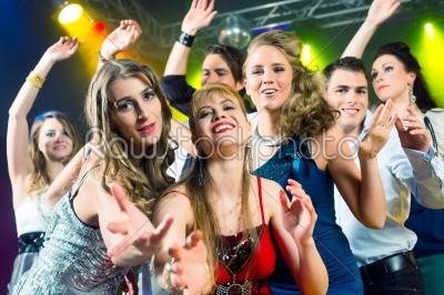 stock photo: party people dancing in disco club-Raw Stock Photo ID: 44943