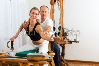 stock photo: patient at the physiotherapy-Raw Stock Photo ID: 46731
