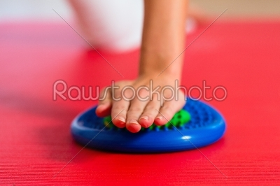 stock photo: patient at the physiotherapy-Raw Stock Photo ID: 46741