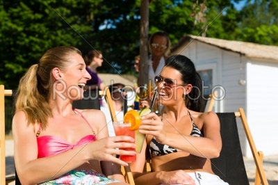 stock photo: people at beach drinking having a party-Raw Stock Photo ID: 45423