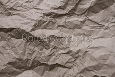 stock photo: photograph of wrinkled brown paper for use as a background-Raw Stock Photo ID: 28579