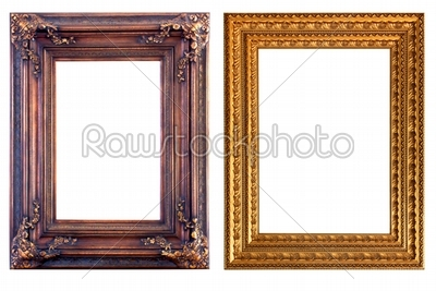 stock photo: picture frame-Raw Stock Photo ID: 23349