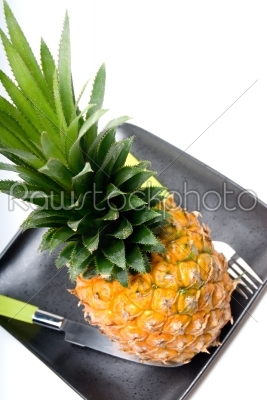 stock photo: pineapple-Raw Stock Photo ID: 36760