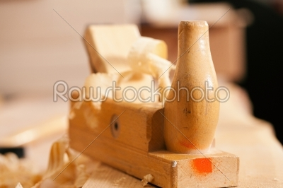 stock photo: planer in work shop of carpenter-Raw Stock Photo ID: 40436