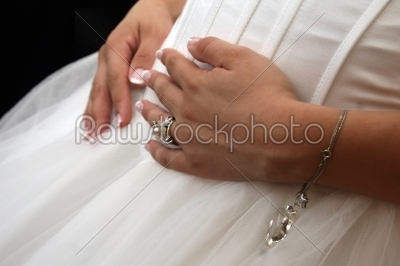 stock photo: pregnant bride-Raw Stock Photo ID: 28415