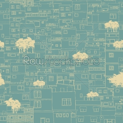 stock vector: seamless city pattern sketch-Raw Stock Photo ID: 26245