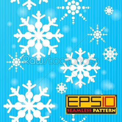 stock vector: seamless snow background-Raw Stock Photo ID: 25278