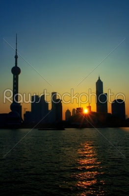 stock photo: shanghai skyline-Raw Stock Photo ID: 30726