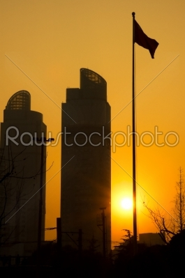 stock photo: shanghai twins towers-Raw Stock Photo ID: 30727