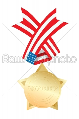stock vector: sheriff star-Raw Stock Photo ID: 25289